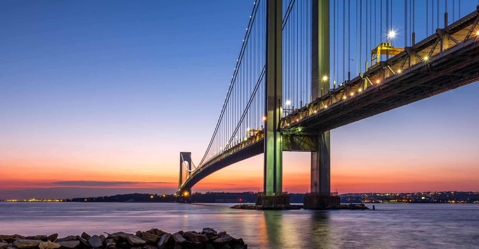 New York Verrazano Bridge - new york personal injury lawyers