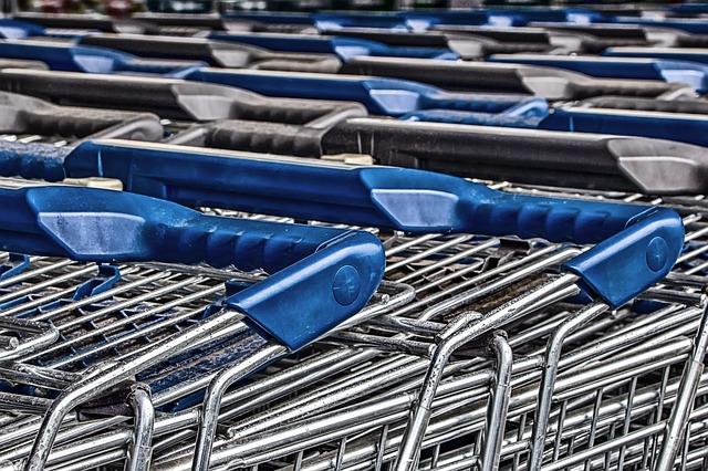 shopping cart injury