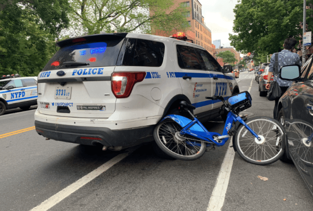 nypd suv reckless driving in new york